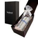 Soft Touch Gift Box with Vacuum Tumbler and Dark Chocolate Espresso Beans Mug Drop