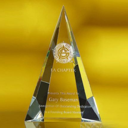 Pointed Tower Award - 7""